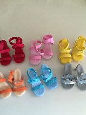 """For Miss Revlon 18-20"""" strappy heels s,fit Cissy MUST EMAIL ME COLOR OR I PICK"""