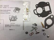 Carter UT cast iron top carburetor kit International Farmall Massey FRE SHIPPING