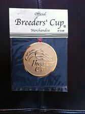 2000 Breeders Cup Gold Christmas Ornament New