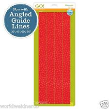 "AccuQuilt GO! Strip Cutter-2"" Fabric Cutting Die 55025 Quilting Applique Sewing"