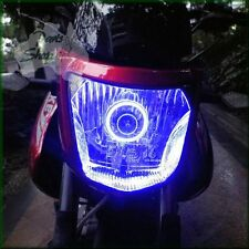 Cool Blue Super Bright Angel Eye Halo Ring Suits Suzuki GW250 Inazuma
