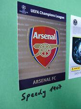 Blasón arsenal badge Champions League Update 2012 13 Panini Adrenalyn