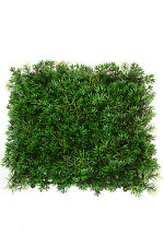 12 Artificial Grass Mat In Outdoor Turf Hedge Wall Patio Plant Decor Floor GM001
