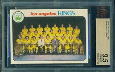 BGS BVG 9.5 1978 79 OPC #198 KINGS TEAM CHECKLIST GEM MINT!!!
