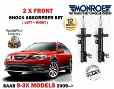 FOR SAAB 9-3X 1.9 2.0 TURBO 2009-> 2x FRONT LEFT + RIGHT SIDE SHOCK ABSORBER SET