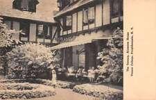 Poughkeepsie New York Vassar College Alumnae House Terrace Antique PC J46140