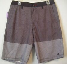 NEW MEN'S O'NEILL RILEY GRAY HYBRID BOARD SHORTS CASUAL 4 WAY STRETCH SIZE 30