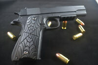Spider and Webb Inlaid 1911 Grips- Kimber Colt Rock Island Springfield Etc