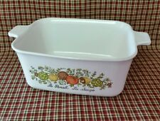 VINTAGE Corning Ware SPICE OF LIFE P-4-B Meat Loaf Casserole Baking Pan