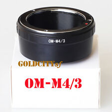 Olympus Lens to Olympus Micro Four Thirds M4/3 M43 OM-M4/3 Mount Adapter Ring
