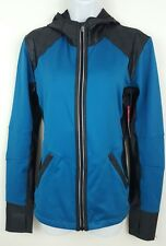 NEW Moving Comfort Blue Hooded Full Zip Running Jacket Size Medium