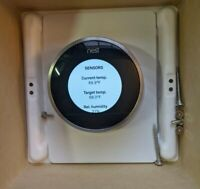 Nest2nd Generation Learning Thermostat T200577 with Wire Base for parts e6