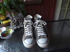 Converse All Star Chuck Taylor Olive Woven High Top Sneaker Shoes M 10, W 12