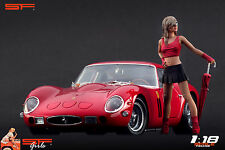 1/18 Umbrella Girl VERY RARE !! figure for1:18 CMC Autoart Ferrari racing