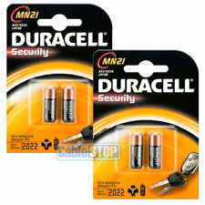 4 x Duracell MN21 Batteries * EXPIRY DATE: 2022 * LR23, 23A, 23AE, L1028, LRV08