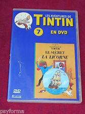 DVD N°7 Les aventures de TINTIN / Les Secrets de la Licorne / TBE !!!