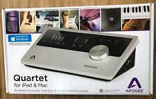 Apogee Quartet USB Audio Portable Home Studio Recording Interface for iOS Mac