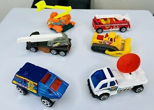 Matchbox Utility Construction Police Futuristic Vehicles