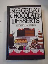 365 Great Chocolate Desserts Cookbook Hardback Book