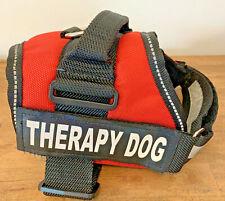 New listing Therapy Service Dog Harness Reflective No Choke Vest Adj. Strap Size Medium