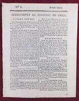 La Charité sur Loire 1792 Médecine Gynécologue Estomac Manufacture de Boutons