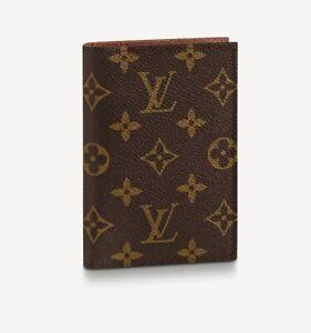 Louis Vuitton cover per passaporto tela iconica. Con la scatola regalo