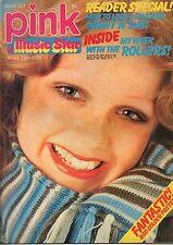 Pink & Music Star Magazine 12 April 1975 No 107   Bay City Rollers   Rod Stewart