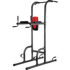 Weider Power Tower Fitness Station Exercise Upper Body Strength Training Gym Bar