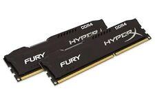 HyperX Fury Negro 8gb 2x4gb Doble Canal Kit DDR4 2666MHz pc4-21300 DIMM Desktop