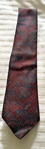 Debenhams Silk Paisley Tie