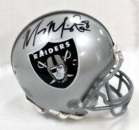 Marcus Mariota Signed Raiders Mini Helmet (Beckett COA & Mariota Hologram)
