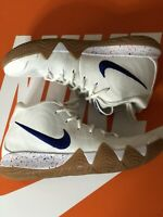 Nike, Kyrie 4 White Mens 'Uncle Drew' Shoes, 943806-100. Size 9.5