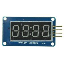 TM1637 4 Bits Digital Tube LED Clock Display Module For Arduino Due R3 UNO 2560