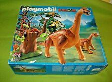 Playmobil 5231 Brachiosaurus mit Baby Dinos Dinowelt Spielset