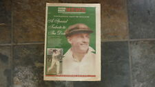 2001 CRICKET LEGEND, DEATH OF DON BRADMAN SPECIAL ISSUE NEWSPAPER, HIGHLAND NEWS