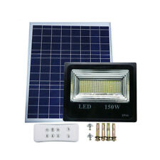 30W -150W Double Color Street Lamp LED Solar Flood Light Spotlight with Remote