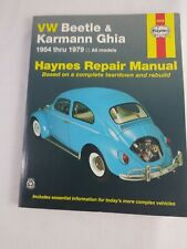 Haynes VW Bettle Karmann Ghia 1954-1979 Repair Manual