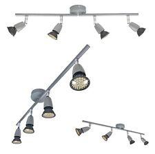 4 Light Bulb Zinc LED GU10 Spot Bar Ceiling Fitting Spotlight Lamp Kitchen 240v