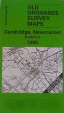 Old Ordnance Survey Map Cambridge Newmarket Chippenham Waterbeach Area 1905 New