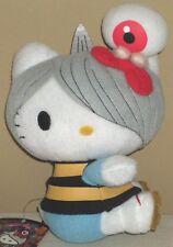 "Hello Kitty Gegege no Kitaro w/Medama Oyaji Plush Dolls 7.7"" 19.5cm Sanrio 2010"