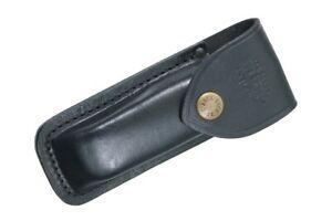 Buck Knives 110 Folding Hunter Black Genuine Leather Sheath