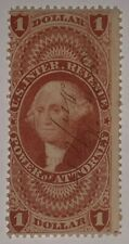 Travelstamps: 1862-71 Us Stamps Scott #R75c Revenue Used Ng Pen Cancel