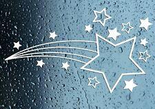 Shooting Stars Sticker Car Wall Window Bedroom Bathroom Premium Grade Vinyl