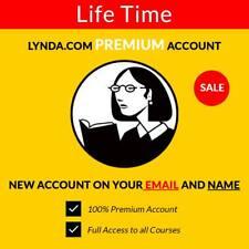 LYNDA.com 🔥🔥 Premium Account 🔥🔥 All courses Access 🔥🔥 Read Description