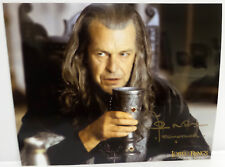 THE LORD OF THE RINGS : JOHN NOBLE AUTOGRAPH AKA DENETHOR (TK)