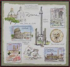 2003 FRANCE BLOC N°53 ** BF Capitales Européennes ROME Italie à faciale sheet NH