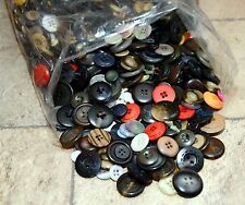 New Listing2 lbs. of Vintage Flat Buttons, Great for Sewing, Crafts, Jewelry Making