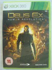 Deus Ex: Human Revolution (Microsoft Xbox 360, 2011) - xbox 360 video game PAL