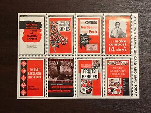 GandG US Stamps Poster Cinderella Advertising Books Magazines Sheet MNH OG