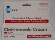Clotrimazole 1% Anti-Fungal Cream 1oz Tube